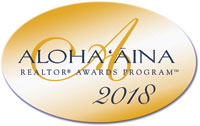 Aloha Aina Realtor Awards Program 2018